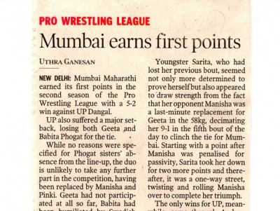 Mumbai earns first points