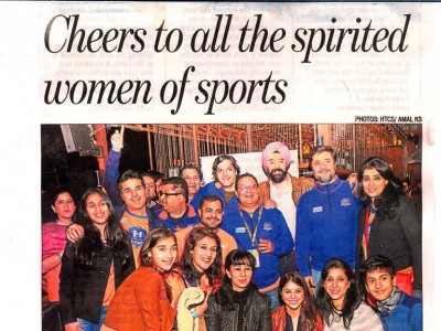 Cheers to all the spirited women of sports