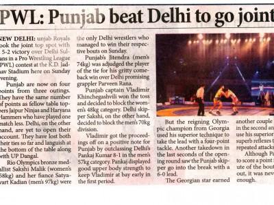Punjab beat Delhi