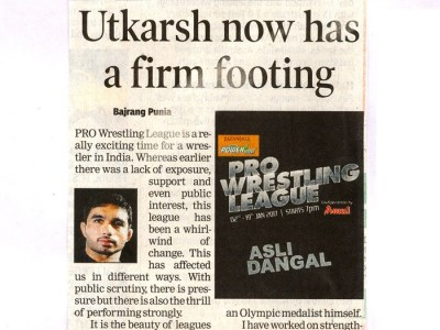 Utkarsh now has a firm footing
