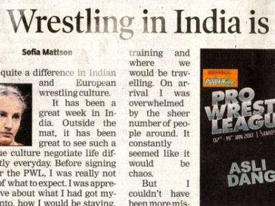 Wrestling in India is about spending time
