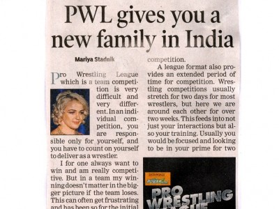 PWL gives you a new family in India