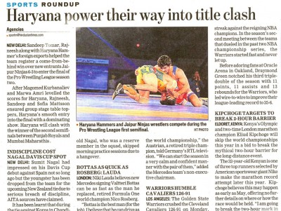 Haryana Power their way into title clash