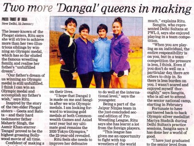 "Two more ""Dangal"" queens in making"
