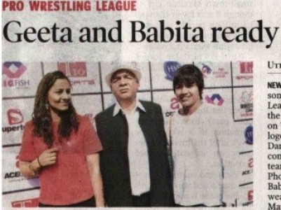 Geeta and Babita ready to rumble for UP Dangal